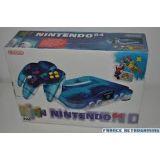 Console Nintendo 64 Bleu Translucide En Boite (occasion)