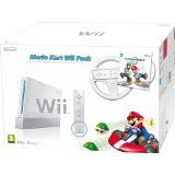 Console Wii Blanche Pack Mario Kart En Boite (occasion)