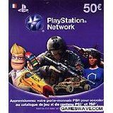 Carte Playstation Network 50 Euros