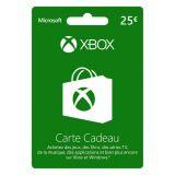 Carte Xbox 25 Euro