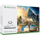 Console Xbox One S Blanche 500 Go + Assassin S Creed Origins