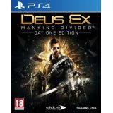 Deus Ex Mankind Divided - Edition Day One Ps4