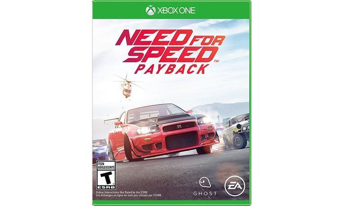 need for speed payback xbox one jeux video xbox one. Black Bedroom Furniture Sets. Home Design Ideas