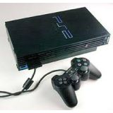 Console Ps2 Fat Noir + Cable Et Une Manette (occasion)