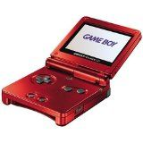 Console Game Boy Advance Sp Rouge Sans Boite Occ Etat Moyen (occasion)