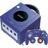 Console Gamecube Violette + Manette + Cables Sans Boite (occasion)
