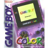 Console Game Boy Color Violette Transparente Sans Boite (occasion)