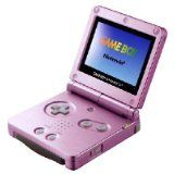 Console Game Boy Advance Sp Rose Sans Boite (occasion)