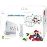 Console Wii Blanche Pack Mario Kart En Boite (occasion)