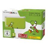 Console Nintendo 3ds Xl Verte Et Blanche + Yoshi S Island - Edition Speciale