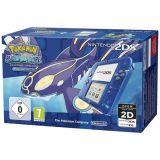 Console Nintendo 2ds - Transparente Bleu + Pokemon Saphir Alpha