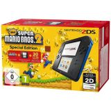 Console 2ds Noir Bleu + New Super Mario Bros 2