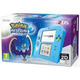 Console 2ds Bleue Et Pokemon Lune