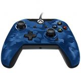 Manette Xbox One Pdp New Camouflage Bleu Avec Fil