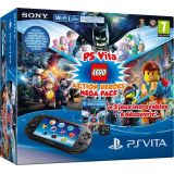 Console Playstation Vita + Lego Mega Pack + Carte Memoire 8 Go Pour Ps Vita