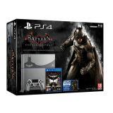 Console Playstation 4 - Steel Grey + Batman Arkham Knight - Edition Limitee