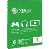 Xbox Live 6 Mois + 1 Mois