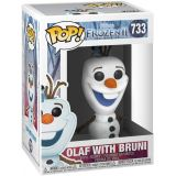Funko Pop Frozen Ii Olaf With Bruni 733