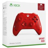 Manette Xbox One Controller Ss Fil Red Sport