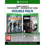 Double Pack Tom Clancy S The Division Et Rainbow Six Siege (occasion)