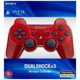 Manette Ps3 Rouge Dualshock 3 Sans Boite (occasion)