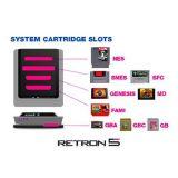 Console Retron 5 Gba + Snes + Nes + Genesis + Famicom Noire (occasion)
