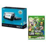 Console Nintendo Wii U 32 Go Noire + Mario & Luigi - Premium Pack (occasion)