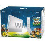 Console Wii Blanche Inazuma Eleven Strikers Serie Limitee En Boite (occasion)