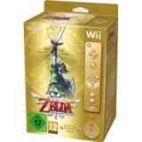 The Legend Of Zelda Skyward Sword + Manette Wii Plus Doree - Edition Limitee (occasion)