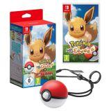 Pokemon Let S Go Evoli + Poke Ball Plus (occasion)