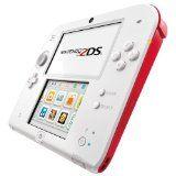 Console Nintendo 2ds - Blanc & Rouge Sans Boite (occasion)