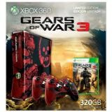 Console Xbox 360 320 Go Edition Limitee Gears Of War 3 (occasion)