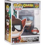 Funko Pop Crash Bandicoot 274 Crash With Jet Pack (occasion)