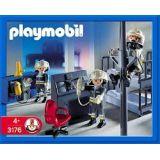Playmobil 3176 Pompiers Et Salle D Interventions