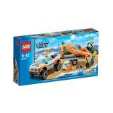 Lego City - 60012 - Jeu De Construction - Le Transporteur Du Bateau Du Garde - Cotes (occasion)