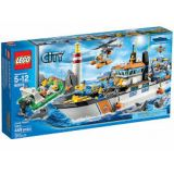 Lego City - 60014 - Jeu De Construction - La Patrouille Des Garde - Cotes