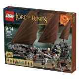Lego The Lord Of The Ring - 79008 - Jeu De Construction - L Embuscade Du Bateau Pirate