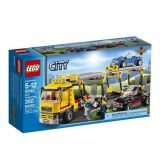 Lego City - 60060 - Jeu De Construction - Le Camion De Transport Des Voitures