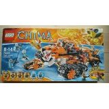 Lego 70224 La Base Mobile De Combat - Chima