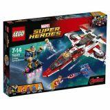 Lego Super Heroes Marvel 76049 La Mission Spatiale Dans L Avenjet
